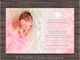Diy Printable Baptism Invitations Dove Baptism or Christening Invitation Diy by Printablecandee
