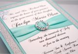 Diy Quinceanera Invitations Diy Aqua Wedding Quinceanera Sweet Sixteen by Invitebling