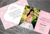 Diy Quinceanera Invitations Diy Quinceanera Invitations Gangcraft Net