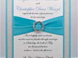 Diy Quinceanera Invitations Diy Turquoise and Silver Wedding Quinceanera Sweet by