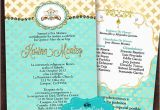 Diy Quinceanera Invitations Gold and Teal Quinceanera Invitation Set Printable Diy Print