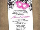 Diy Quinceanera Invitations Items Similar to Quinceanera Masquerade Invitations Diy