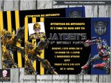 Diy Transformer Birthday Invitations Transformers Invitation Personalised by Lollipoppartydesigns
