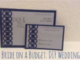 Diy Wedding Invitations and Rsvp Cards My Diy Wedding Invitations Runaway Teacher