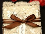 Diy Wedding Invitations with Lace Wedding Accessories Ideas