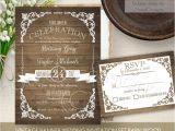 Diy Woodsy Wedding Invitations Rustic Wedding Invitation Printable Set Country Wedding
