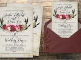 Diy Woodsy Wedding Invitations Rustic Wedding Invitation Rustic Wedding Invite