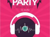 Dj Party Invitation Templates 10 Party Invitation Templates