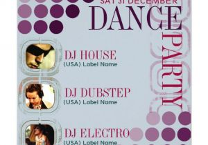 Dj Party Invitation Templates 18 Best Images About Invites On Pinterest