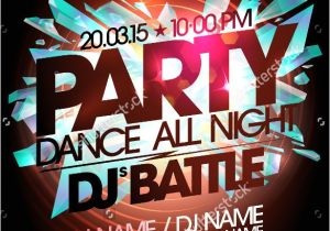 Dj Party Invitation Templates 20 Party Invitation Templates – Free Sample Example