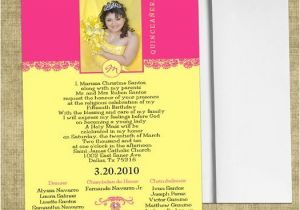 Do It Yourself Quinceanera Invitations 8 Best Quinceanera Invitations Images On Pinterest