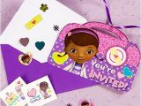 Doc Mcstuffins Invitations Party City Doc Mcstuffins Invite with Surprise Idea Party City