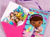 Doc Mcstuffins Invitations Party City Doc Mcstuffins Thank You Note Idea Party City