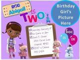 Doc Mcstuffins Party Invites Create Doc Mcstuffins Birthday Invitations Free