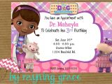 Doc Mcstuffins Party Invites Disney Doc Mcstuffins Birthday Party Invitations