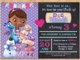 Doc Mcstuffins Party Invites Doc Mcstuffin Invitation Doc Mcstuffins Birthday Invitation