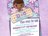Doc Mcstuffins Party Invites Doc Mcstuffins Birthday Party Invitation