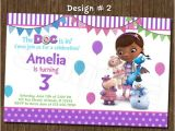 Doc Mcstuffins Party Invites Doc Mcstuffins Birthday Party Photo Invitation Printable