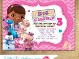 Doc Mcstuffins Party Invites Doc Mcstuffins Invitations Party Invitations Printable
