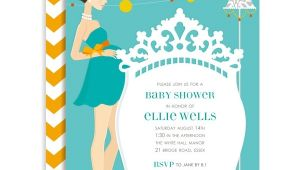 Doc Milo Online Baby Shower Invitations Classic Crib Mama Blue Baby Shower Invitation