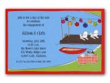 Dock Party Invitations Dock Party Invitations Clearance Paperstyle