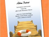 Dock Party Invitations Summer On the Water Invitations Announcingit Com Blog