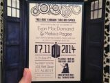 Doctor who Wedding Invitation Template thematique Series Doctor who Mariages forum Mariages Net