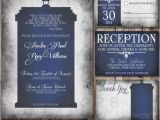 Doctor who Wedding Invites thematique Series Doctor who Mariages forum Mariages Net
