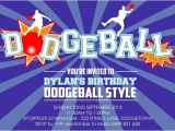 Dodgeball Birthday Party Invitations 1000 Images About Dodgeball Posters Information and