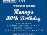 Dodger Party Invitations La Dodgers Invitation La02 Pcexpressdesigns On Artfire