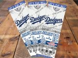 Dodger Party Invitations Lexishouseofcards On Etsy