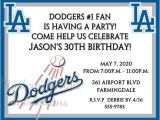 Dodger Party Invitations Los Angeles Dodgers Baseball Invitations Birthday Bachelor