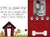 Dog Birthday Party Invitation Templates Dog Birthday Invitation