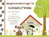 Dog Party Invitations Template Dog themed Birthday Party Invitation Ideas New Party Ideas