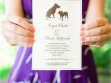 Dog Wedding Invitations Dog themed Wedding Cake Ideas and Designs