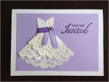Doily Dress Bridal Shower Invitations Best 25 Doily Invitations Ideas On Pinterest