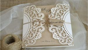 Doily Wedding Invitation Template Laser Cut Wedding Invitation Doily Laser Cut Wedding