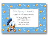 Donald Duck Baby Shower Invitations Disney Baby Donald Pregnancy Announcements