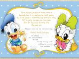 Donald Duck Baby Shower Invitations Donald Duck Birthday Party Invitations — Anouk Invitations