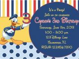 Donald Duck Baby Shower Invitations Donald Duck Inspired Printable Birthday by