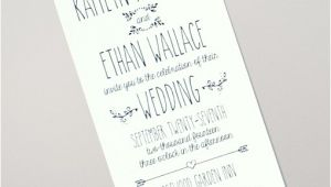Doodle Wedding Invitation Template Doodle Love Tall Wedding Invitation Download Print