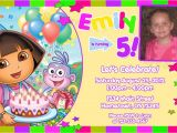 Dora Customized Birthday Invitations Personalized Printable Invitations