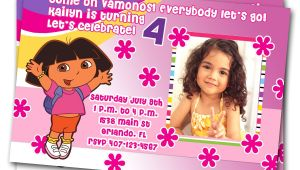 Dora Customized Birthday Invitations Unavailable Listing On Etsy