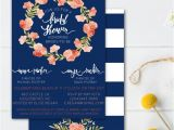 Double Bridal Shower Invitations Joint Bridal Shower Invitation Double Bridal Shower