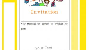 Download Birthday Invitation Template 27 Best Blank Invitation Templates Psd Ai Free