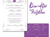 Downloadable Bridal Shower Invitations Wedding Invitation Printable Wedding Invitation