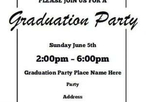 Downloadable Graduation Invitation Templates Free Printable Graduation Announcements