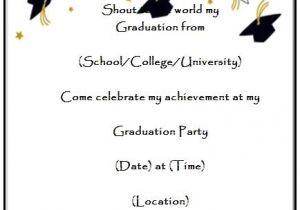 Downloadable Graduation Invitation Templates Graduation Announcement Templates Free Invitation Template