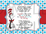 Dr Seuss Baby Shower Invitation Template 5 Best Of Free Printable Dr Seuss Baby Shower