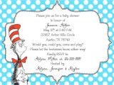 Dr Seuss Baby Shower Invitation Template Dr Seuss Baby Shower Invitations Templates